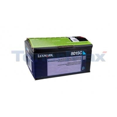 LEXMARK CX510 TONER CARTRIDGE CYAN RP 2K